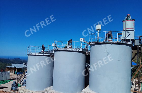 CNFREE Gold Dressing Agent in Indonesia 100tpd CIL Plant