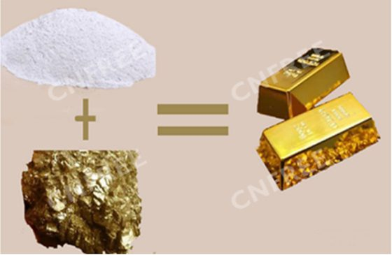 Cnfree Gold Leaching Reagent Compared To Cyanide In Gold Mining Plant Cnfree