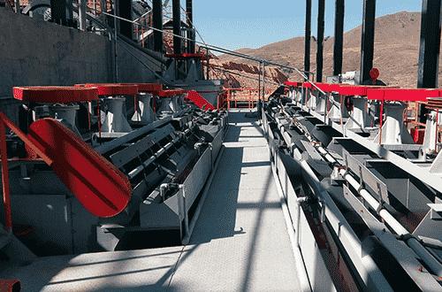 Zinc-Lead Sulphide Flotation Plant