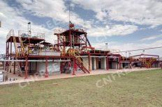 Uganda gold mining plant